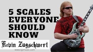 5 Scales Everyone Should Know🎸