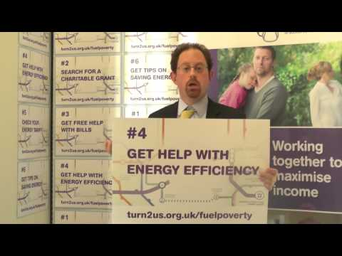 Julian Huppert MP supports Turn2us Fuel Poverty campaign