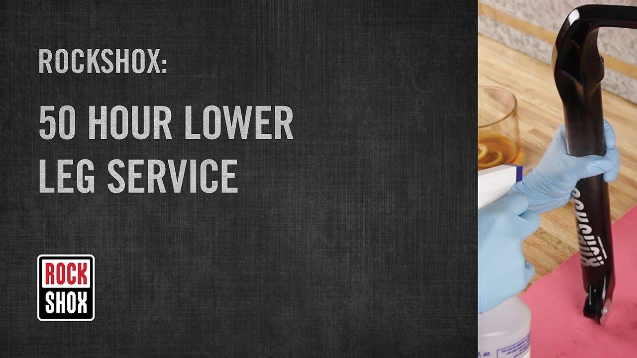 ROCKSHOX 50 Hour Lower Leg Service