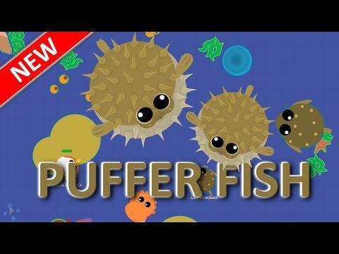 MOPE.IO // *NEW* #PufferFish // GAMEPLAY