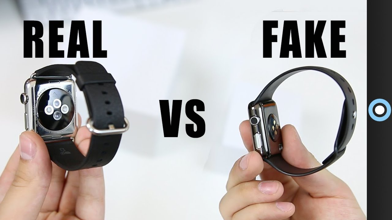 Fake vs Real Apple Watch! - YouTube 35fe0139d