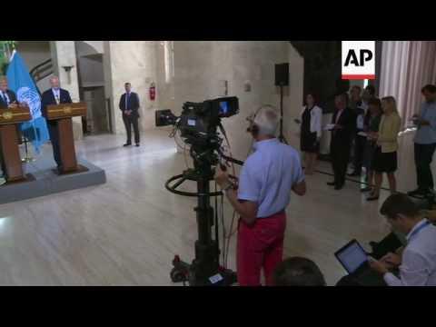 UN envoy: problem with Syria aid despite truce