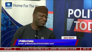 Ayo Fayose Is The Common Enemy Of APC And Ekiti State - Fayemi |Politics Today|
