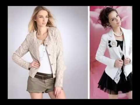 e50e482d50 Blazer Casaco Jaqueta Terninhos Femininos Coloridos - YouTube