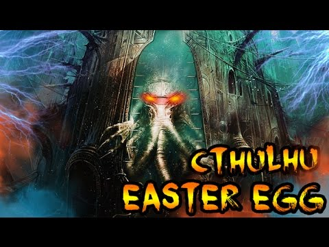 CTHULHU MONSTER EASTER EGG FOUND Giant Sea Monster In Black Ops 3 ZOMBIES ZETSUBOU NO SHIMA