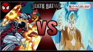 Batman vs Superman vs Spiderman vs Super Saiyan God Goku