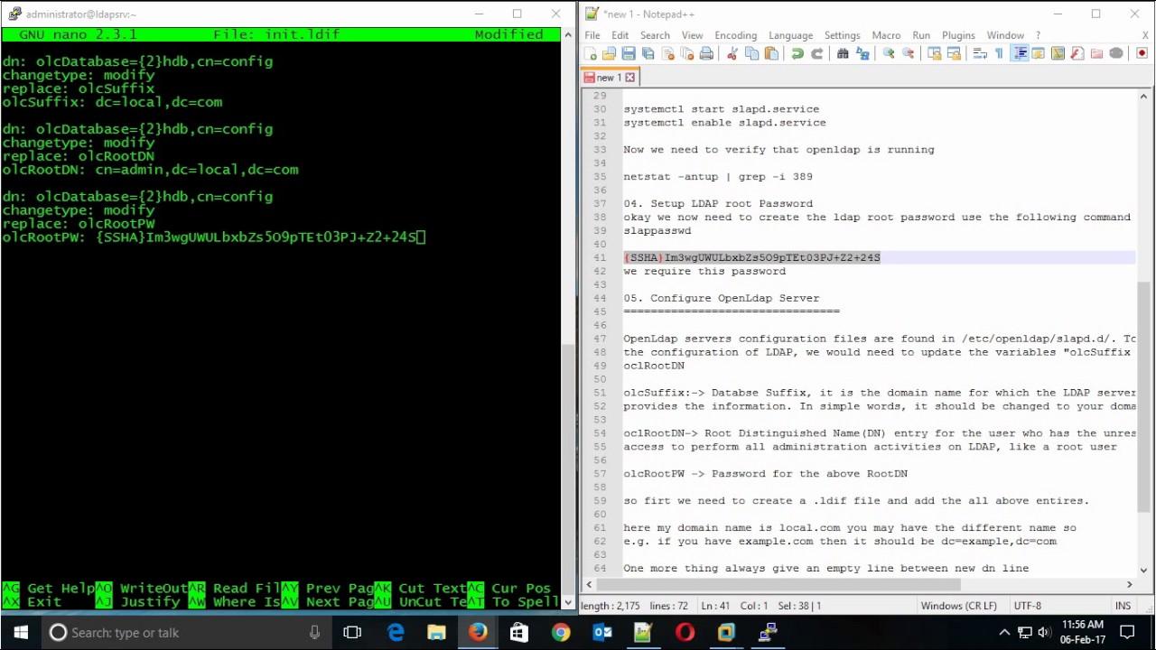 How to Setup OpenLdap Server with SSL/TLC on Centos 7 Part-1