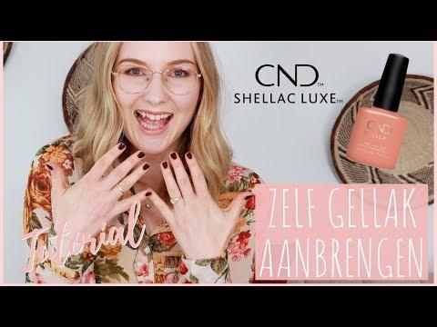 Tutorial: ZELF GELLAK aanbrengen   CND Shellac review   Wil & Tien