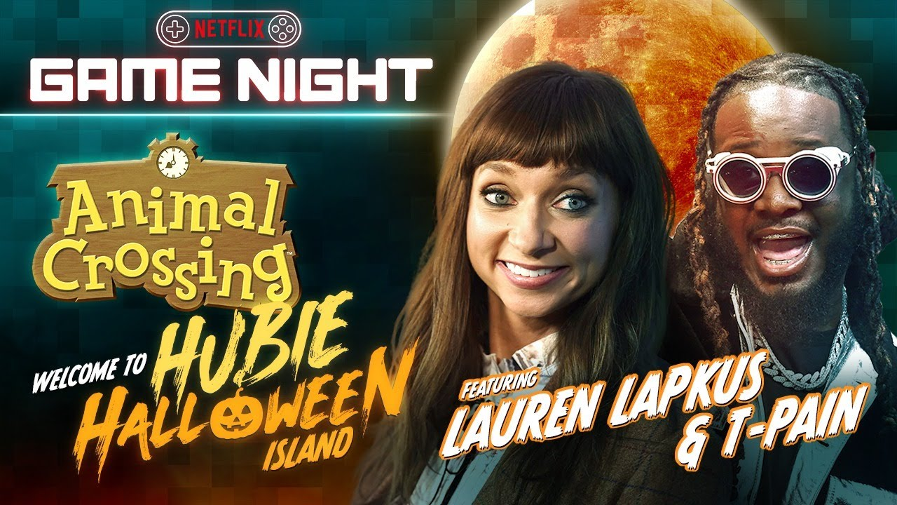 "LAUREN LAPKUS, KARAN BRAR & T-PAIN IN ""HUBIE HALLOWEEN ISLAND"" - A LIVE ANIMAL CROSSING EVENT"