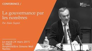 Alain Supiot - La gouvernance par les nombres