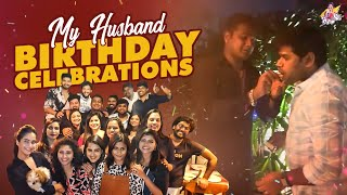 My Husband Birthday Celebrations || Shiva Jyothi || Savithri || Jyothakka