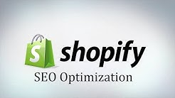 SEO on Shopify - Optimizing Product's for the Search Engines