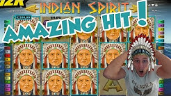 Online Slot - INDIAN SPIRIT Big Win and LIVE CASINO GAMES (Casino Slots) Huge win