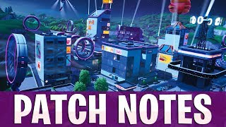 POMPE SHOTTY VOÛTÉ! Fortnite Saison 9 Patch Notes Aperçu!