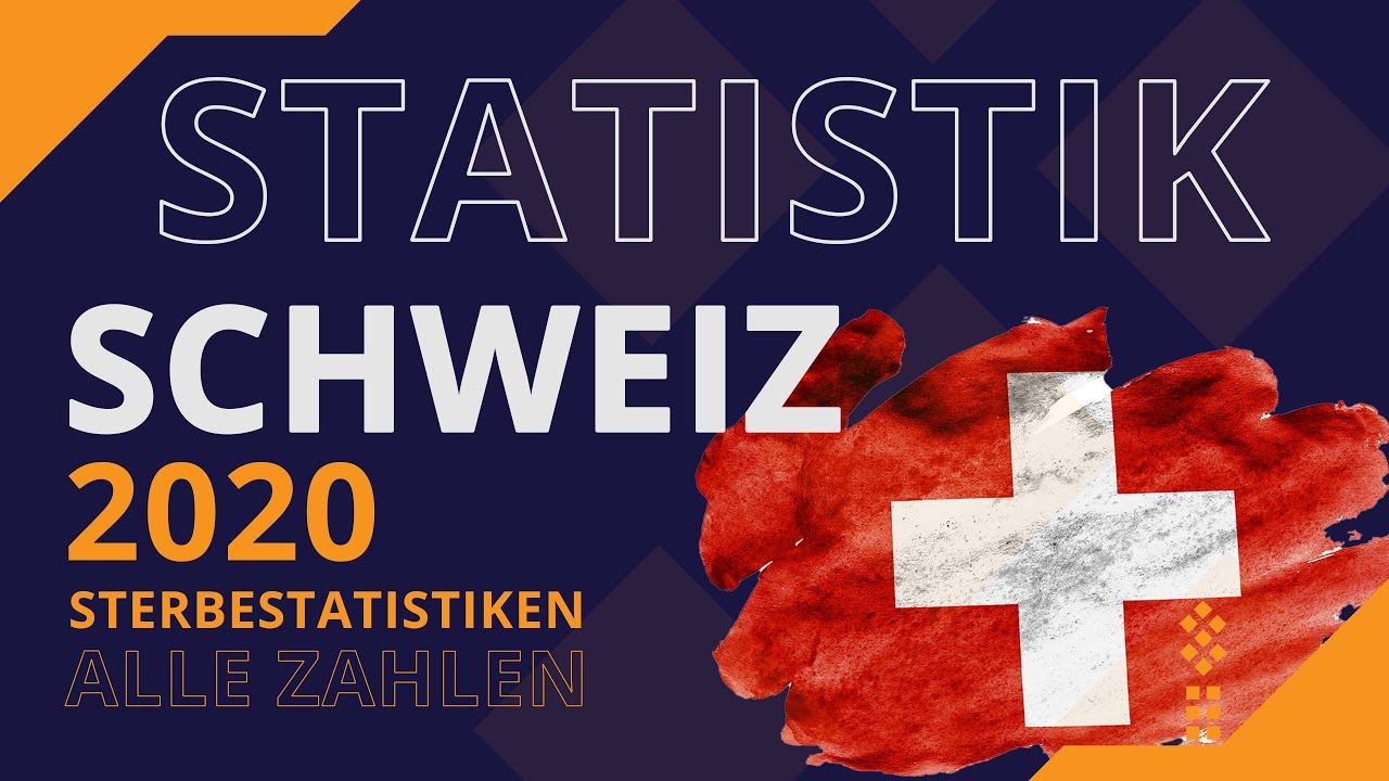 Sterbezahlen Schweiz 2020 - Alle Details, alle Zahlen - wo ist die ÜBERSTERBLICHKEIT?