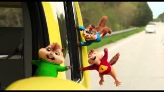 Трейлер Элвин и бурундуки 4 (2015)|Alvin and the Chipmunks The Road Chip