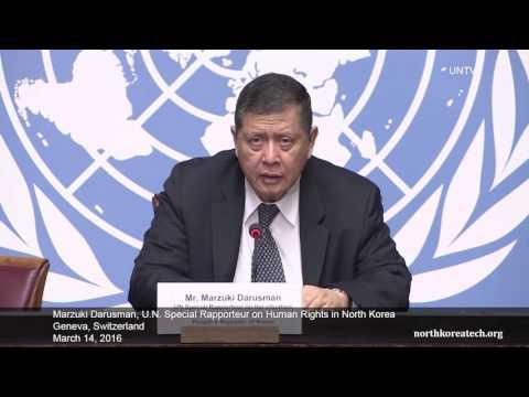 UN Human Rights expert on North Korea