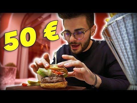 BURGER À 1€ VS BURGER À 50€