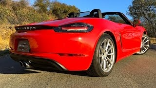 2017 Porsche 718 Boxster (982) First Drive Review (2 of 2)