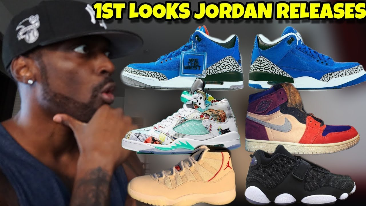 9c98b498ea0 DJ Khaled Jordan 3 Another One Father of Asahd, Jordan 5 Wings, Tinker 13  Space Jam