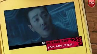 2018년 상반기 한국영화 흥행순위 박스오피스 성적