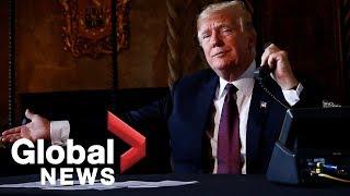 Trump to shut border, halt trade if Mexico loses