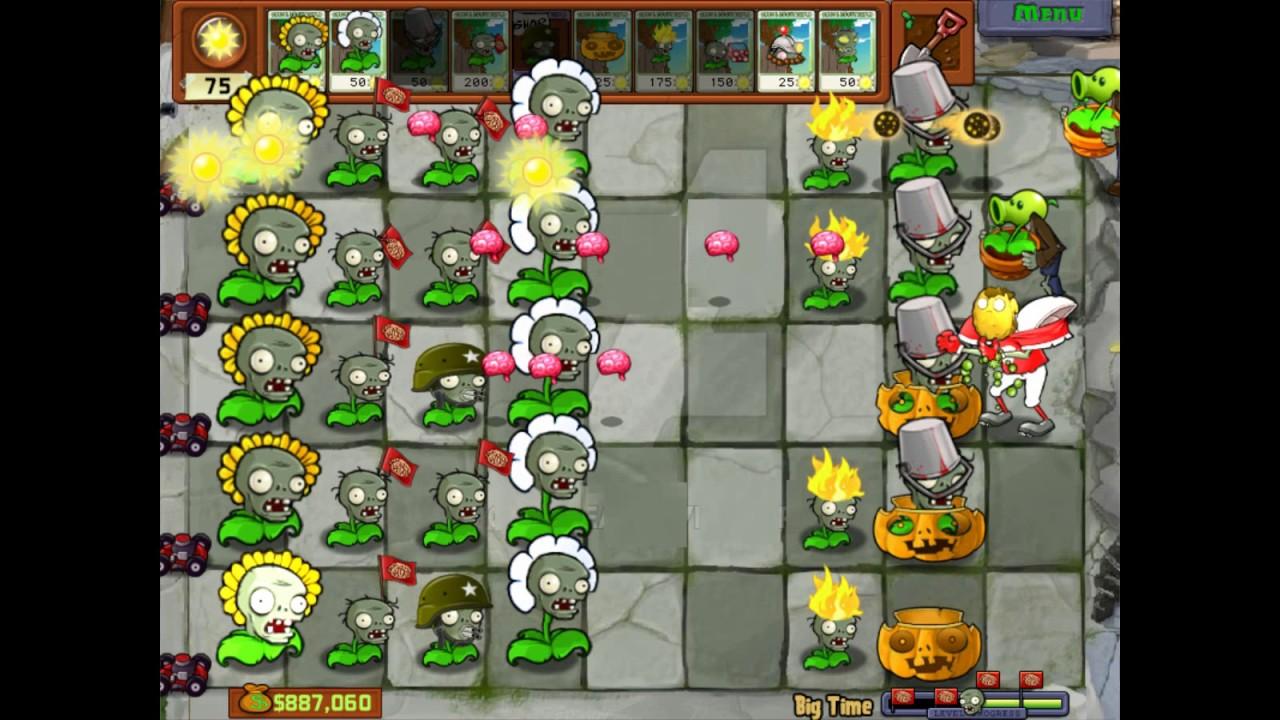 Plants Vs Zombies Mod Zomplant Vs Zombotany Hidden