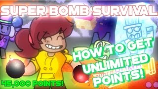 Roblox | Super Bomb Survival!! [How to get Infinite / Fast Legit points] How to farm points!