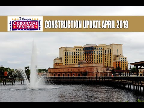 Disney's Coronado Springs Resort Construction Update April 2019