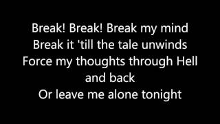 DA Games - Break My Mind - FNAF Lyrics