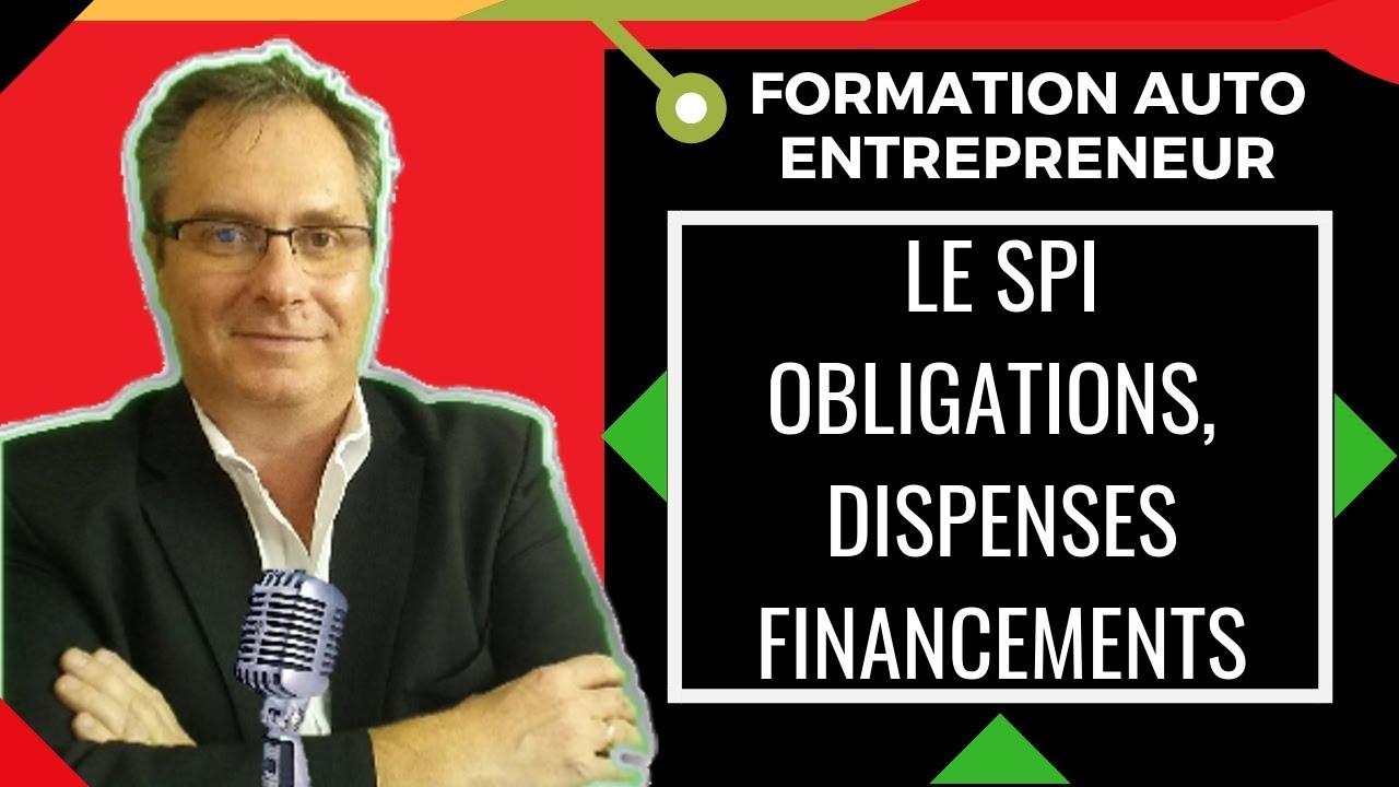 Spi En Ligne Formation Auto Entrepreneur Stage De Preparation A