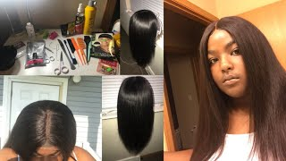 How To Make A Closure Wig Using Beauty Forever Hair