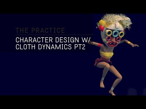 The Practice // 31 / Character Design, Texturing and Hair Dynamics in Cinema 4d