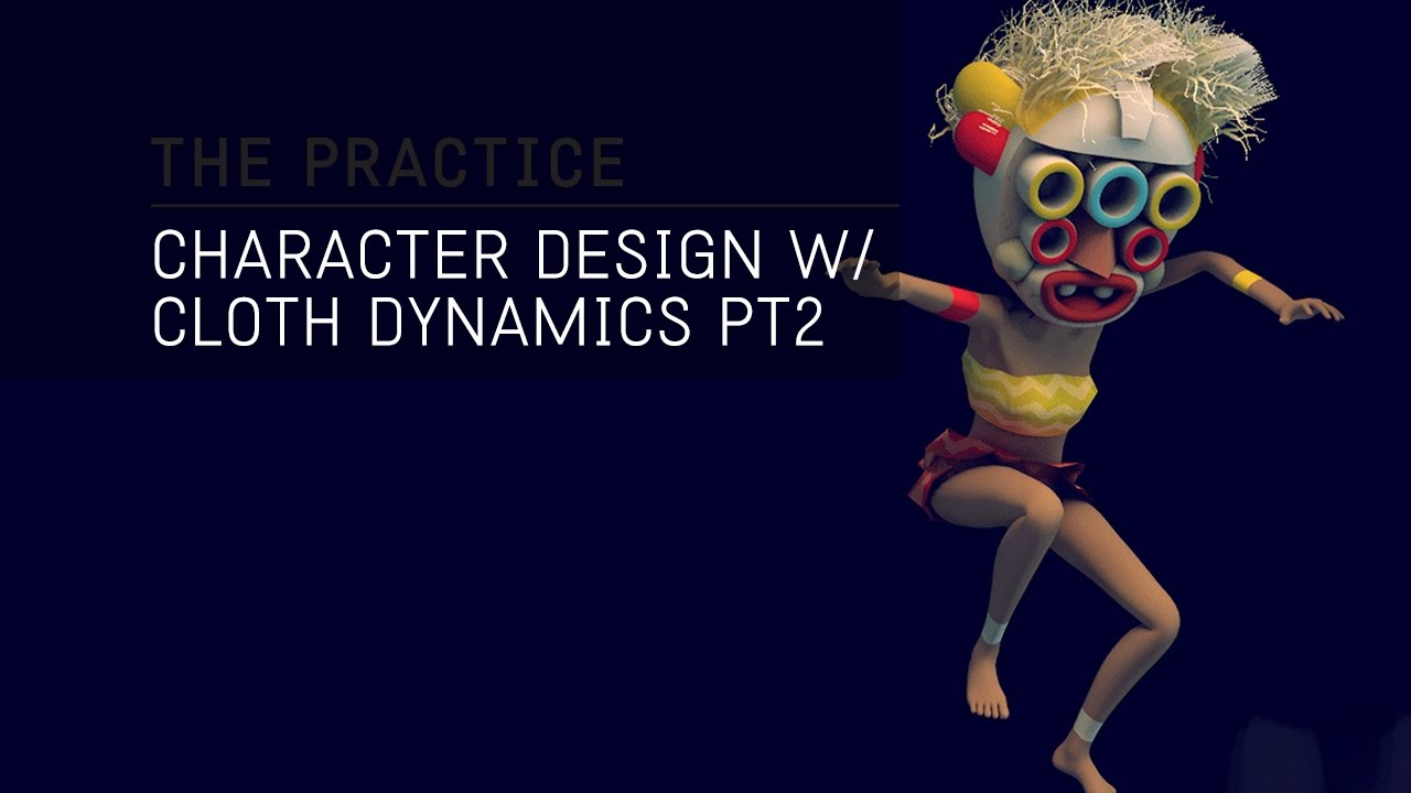 Character Design Cinema 4d Tutorial : The practice character design texturing and hair dynamics