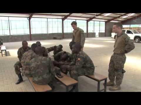 U.S. Marines Train Ugandan Military for Deployments