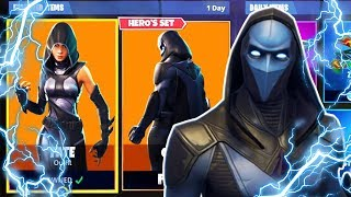 *OMEN SKIN* Fortnite ITEM SHOP RESET! (July 18TH) NEW ITEMS & MORE!