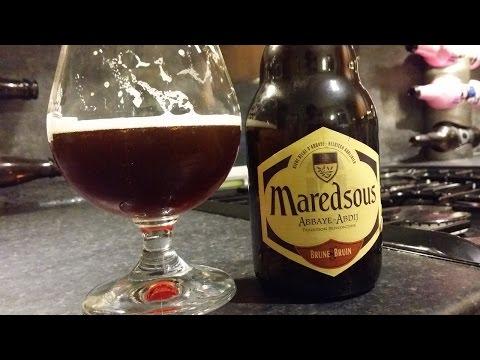 Maredsous Brune Bruin Abbaye Abdij | Belgian Craft Beer Review