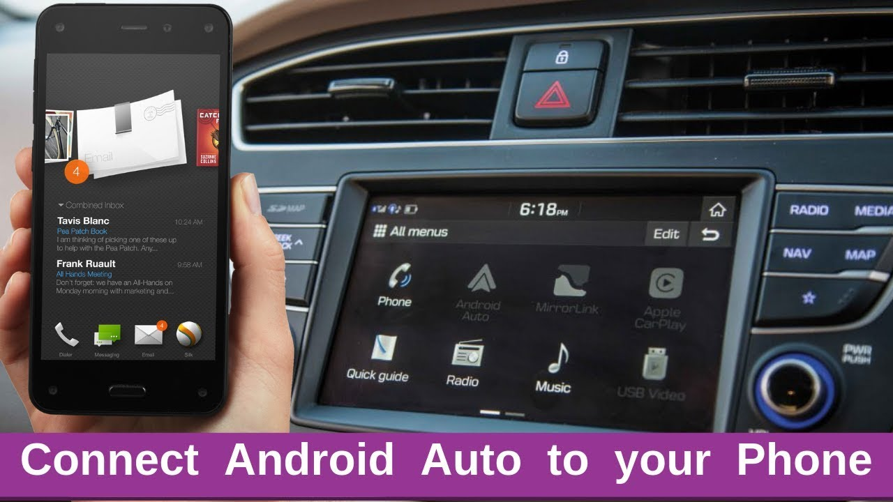 How to Connect Android Auto with your smartphones in your Car