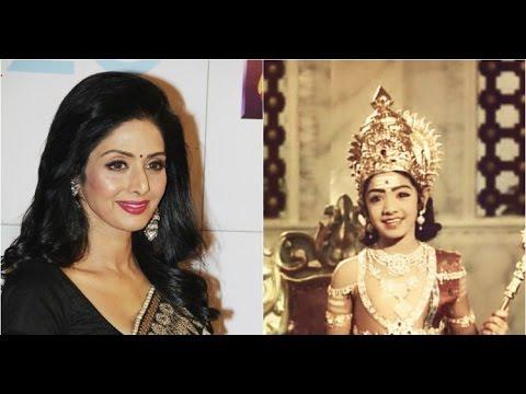 10 Foto transformasi Sridevi, awet muda dan makin jelita memesona