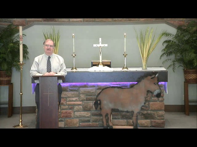 Palm Sunday Devotion 2020