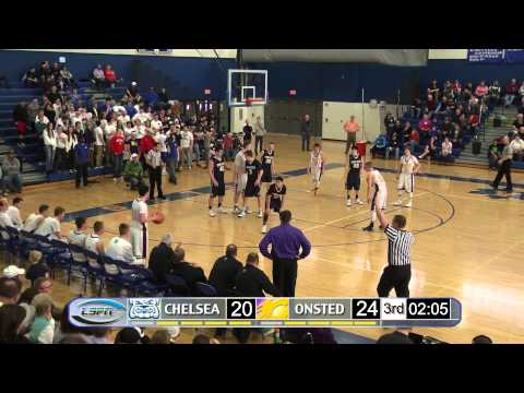Chelsea Bulldogs vs Onsted Wildcats (Class B District Semi-Final)