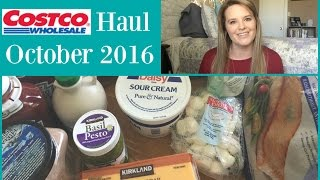 huge costco haul october 2016