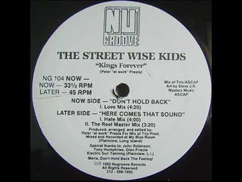 The Street Wise Kids – Here Comes That Sound (Hate Mix)