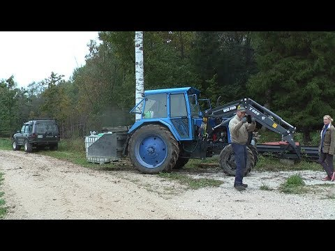 Belarus MTZ-82 Front Loader Part 1