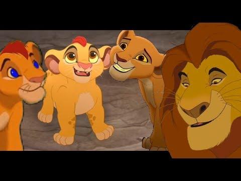 Mufasa Knows His Grandchildren (FANMADE)