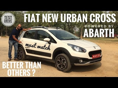 NEW FIAT AVVENTURA URBAN CROSS POWERED BY ABARTH MOST DETAILED REVIEW