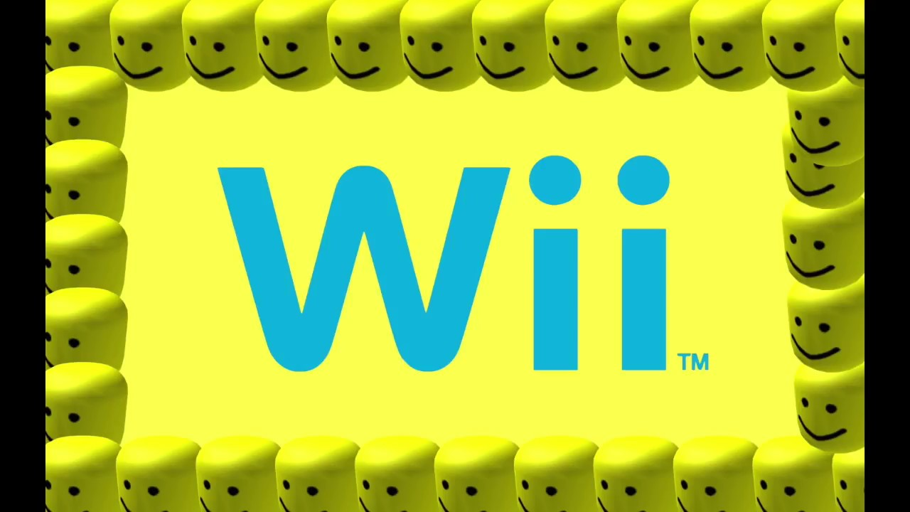 The Wii Music But With The Roblox Death Oof Sound Youtube