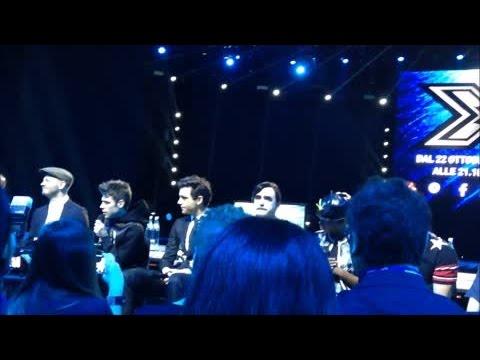 X-Factor: la conferenza dei live