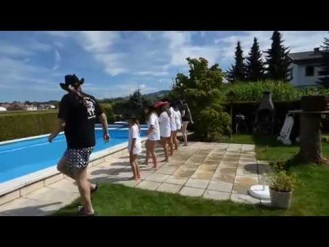Ybbs Valley Line Dance Kids - Cold Water Challenge 2014