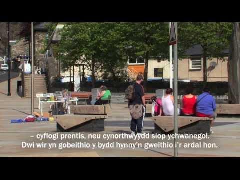 Ewrop a Gogledd Cymru -- Adfywio Ffisegol / Europe & North Wales -- Physical Regeneration